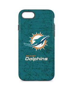 Miami Dolphins Distressed- Aqua iPhone 7 Pro Case