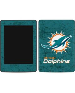 Miami Dolphins Distressed- Aqua  Amazon Kindle Skin