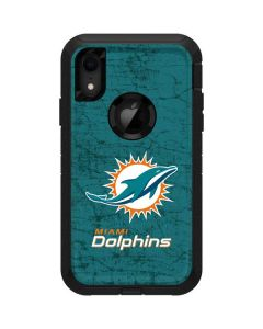 Miami Dolphins Distressed- Aqua  Otterbox Defender iPhone Skin