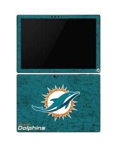 Miami Dolphins Distressed- Aqua Surface Pro 6 Skin