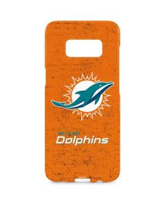 Miami Dolphins Distressed- Orange Galaxy S8 Plus Lite Case