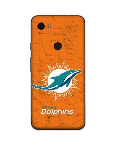 Miami Dolphins Distressed- Orange Google Pixel 3a Skin