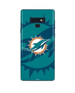 Miami Dolphins Double Vision Galaxy Note 9 Skin