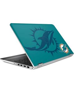 Miami Dolphins Double Vision HP Pavilion Skin