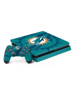Miami Dolphins Double Vision PS4 Slim Bundle Skin