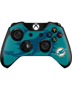 Miami Dolphins Double Vision Xbox One Controller Skin