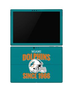Miami Dolphins Helmet Surface Pro 6 Skin