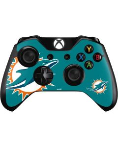 Miami Dolphins Large Logo Xbox One Controller Skin