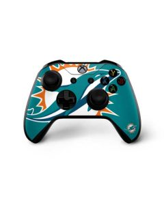 Miami Dolphins Large Logo Xbox One X Controller Skin