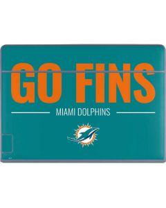 Miami Dolphins Team Motto Galaxy Book Keyboard Folio 12in Skin