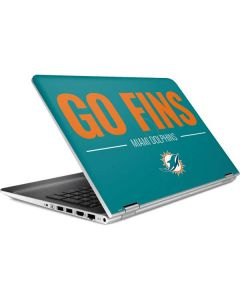 Miami Dolphins Team Motto HP Pavilion Skin