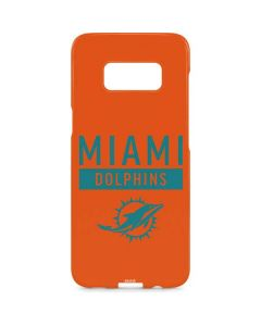 Miami Dolphins Orange Performance Series Galaxy S8 Plus Lite Case