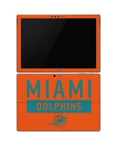 Miami Dolphins Orange Performance Series Surface Pro 6 Skin