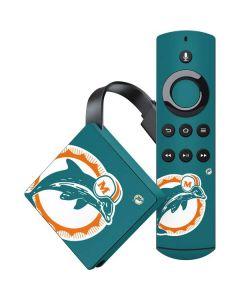 Miami Dolphins Retro Logo Amazon Fire TV Skin