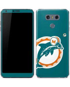 Miami Dolphins Retro Logo LG G6 Skin
