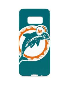 Miami Dolphins Retro Logo Galaxy S8 Plus Lite Case