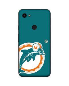 Miami Dolphins Retro Logo Google Pixel 3a Skin