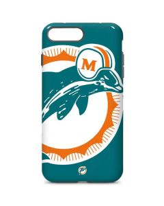 Miami Dolphins Retro Logo iPhone 7 Plus Pro Case