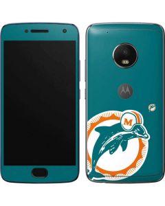 Miami Dolphins Retro Logo Moto G5 Plus Skin
