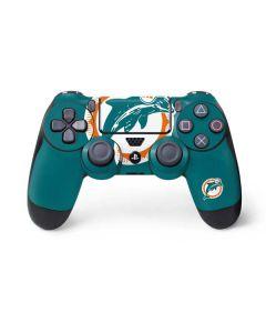 Miami Dolphins Retro Logo PS4 Controller Skin