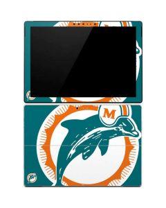 Miami Dolphins Retro Logo Surface Pro 4 Skin