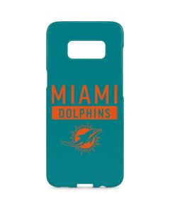Miami Dolphins Teal Performance Series Galaxy S8 Plus Lite Case