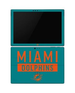 Miami Dolphins Teal Performance Series Surface Pro 6 Skin