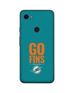 Miami Dolphins Team Motto Google Pixel 3a Skin