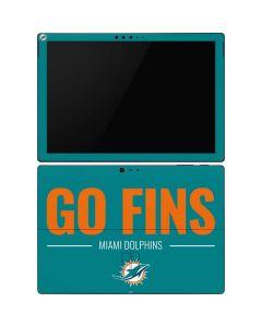 Miami Dolphins Team Motto Surface Pro 6 Skin