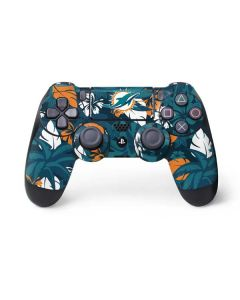Miami Dolphins Tropical Print PS4 Pro/Slim Controller Skin