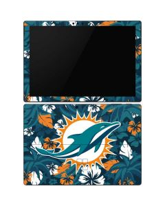 Miami Dolphins Tropical Print Surface Pro 6 Skin