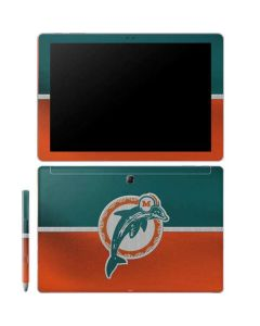 Miami Dolphins Vintage Galaxy Book 10.6in Skin