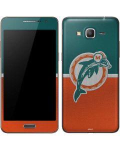 Miami Dolphins Vintage Galaxy Grand Prime Skin