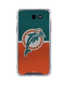 Miami Dolphins Vintage Galaxy J7 (2017) Clear Case