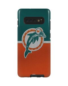 Miami Dolphins Vintage Galaxy S10 Plus Pro Case