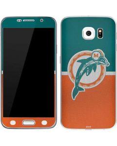 Miami Dolphins Vintage Galaxy S6 Skin