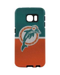 Miami Dolphins Vintage Galaxy S7 Edge Pro Case