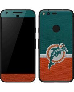 Miami Dolphins Vintage Google Pixel Skin