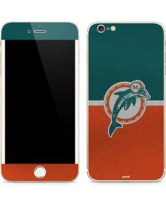 Miami Dolphins Vintage iPhone 6/6s Plus Skin