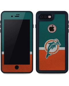Miami Dolphins Vintage iPhone 7 Plus Waterproof Case