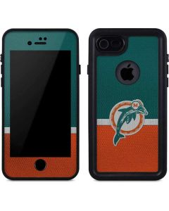 Miami Dolphins Vintage iPhone 8 Waterproof Case