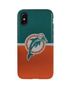 Miami Dolphins Vintage iPhone X Pro Case