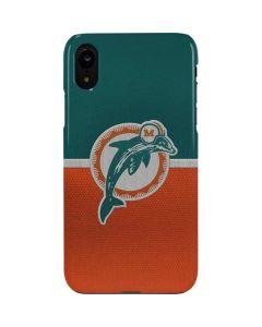 Miami Dolphins Vintage iPhone XR Lite Case