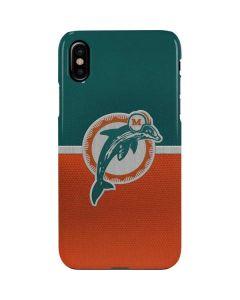 Miami Dolphins Vintage iPhone XS Lite Case