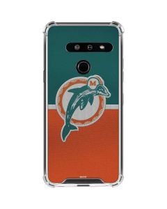 Miami Dolphins Vintage LG G8 ThinQ Clear Case