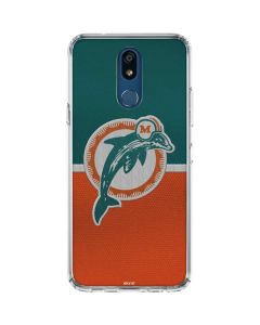 Miami Dolphins Vintage LG K30 Clear Case