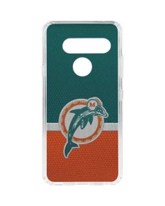 Miami Dolphins Vintage LG V40 ThinQ Clear Case