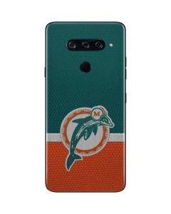 Miami Dolphins Vintage LG V40 ThinQ Skin