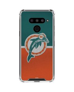 Miami Dolphins Vintage LG V50 ThinQ Clear Case