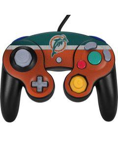 Miami Dolphins Vintage Nintendo GameCube Controller Skin
